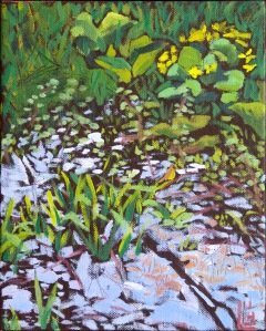 Black River Beauty, 8 x 10, 2014 (sold)
