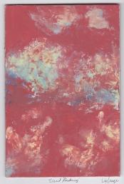 """""""Cloud Rendering,"""" oil on masonite, 4x6, 2015"""