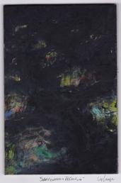 """Subterranean Reflections,"" oil on masonite, 4x6, 2015"
