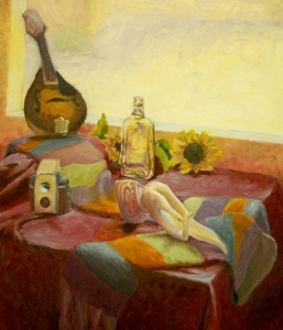 Still Life with Alabaster Hand, oil on canvas, 2009